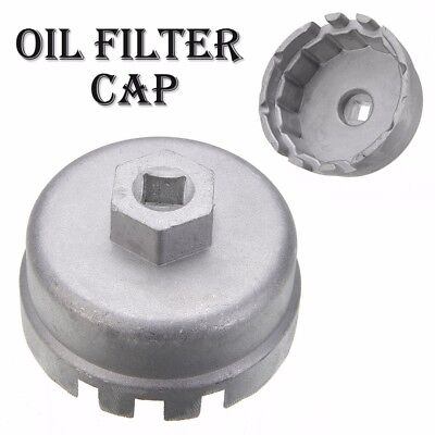 For Lexus Toyota CT Oil Filter Wrench Cap Housing Tool Remover 14 Flutes