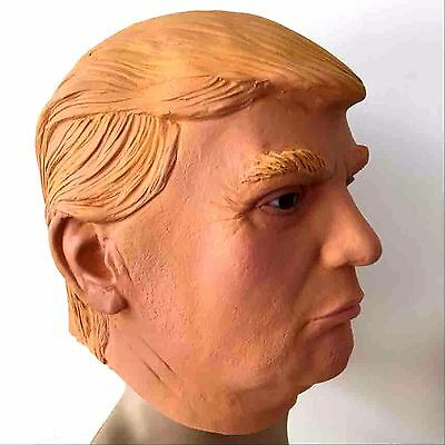 1x President Donald Trump Mask Latex Overhead Costume Party Cosplay