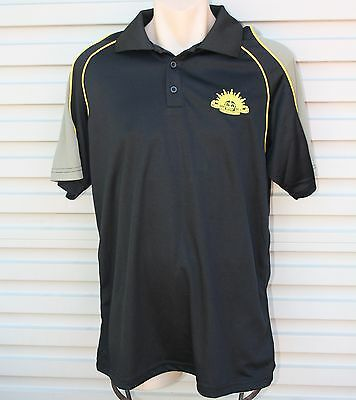 Army Polo Shirt With Rising Sun Badge - Cool Dry Australian Army