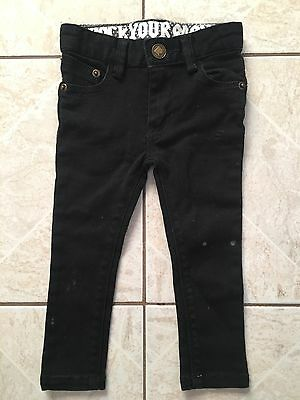 ROCK YOUR BABY Black Skinny Jeans Size 1