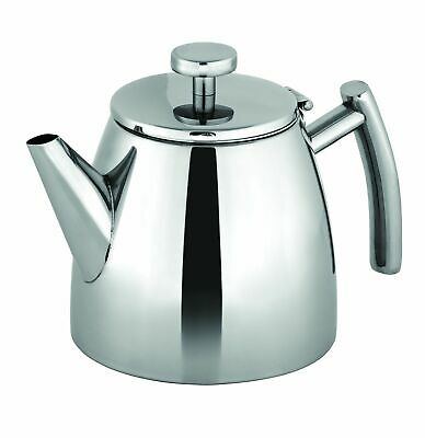NEW AVANTI MODENA DOUBLE WALL STAINLESS STEEL TEAPOT 600ml Brew Herbal Infusion