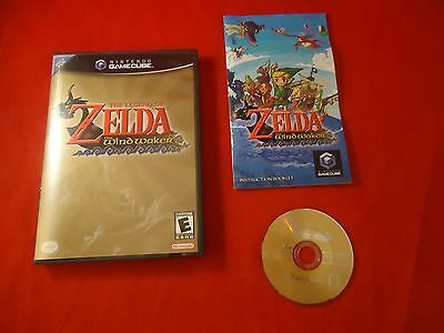 Legend of Zelda: The Wind Waker (Nintendo GameCube, 2003) COMPLETE w/ Case disc