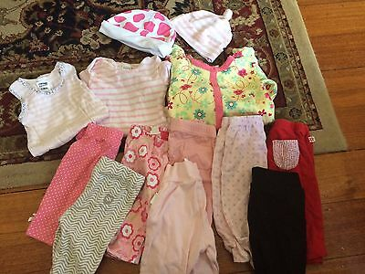 Baby Girl Clothes Bulk 000; Sprout/Marquise/Bonds/Cotton On