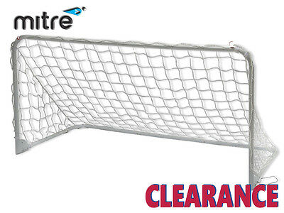 """*CLEARANCE NEW"""" MITRE - EASY FOLD GOAL - 6x3 - WHITE"""
