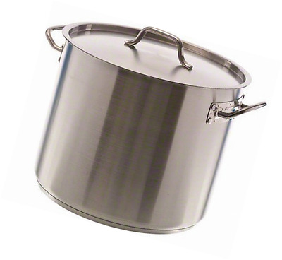 Update International (SPS-32) 32 Qt Induction Ready Stainless Steel Stock Pot w/