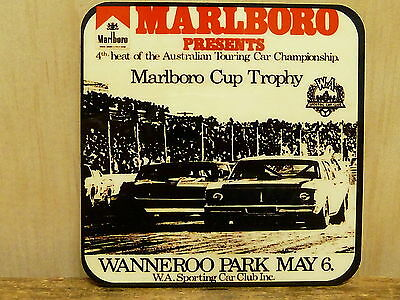 Drink Coaster Set Of 4 - Atcc Marlboro Cup Wanneroo Park