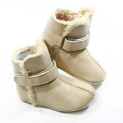 NEW Pre-walker snug booties in cream by SKEANIE