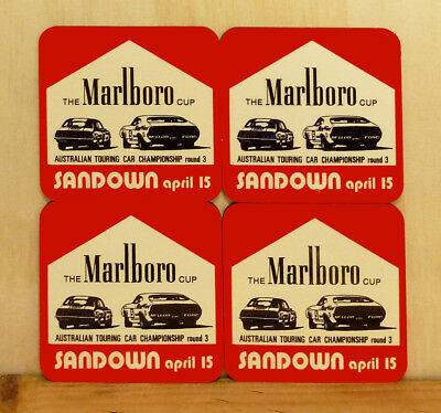 Drink Coaster Set Of 4 - Atcc The Marlboro Cup Sandown