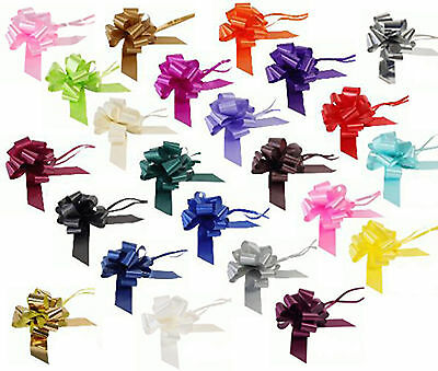 30mm Eleganza Pull Bow Wedding, Car, Pews, Gift Wrap, Floristry 5055370619487