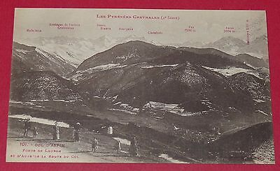 Cpa Carte Postale France Hautes Pyrenees 65 Refuge Col D'aspin