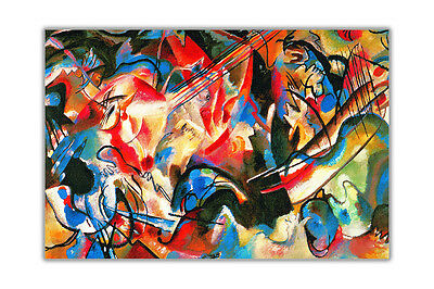 Abstract Composition 6 By Wassily Kandinsky Wall Decoration Poster Prints