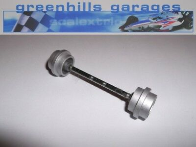 Greenhills Scalextric Williams BMW FW23 Compaq Front Axle & Wheels Used – P2549