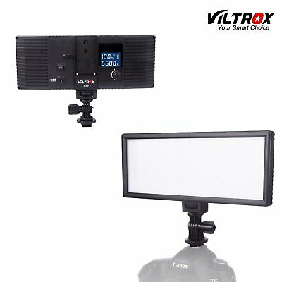 Viltrox 132 LED LCD Bi-Color & Dimmable Wedding Studio Video Light Lamp Panel