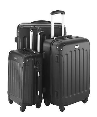 3 Piece Luggage ABS Hardshell Spinner Set Travel Suitcase Carry Suitcase Champan