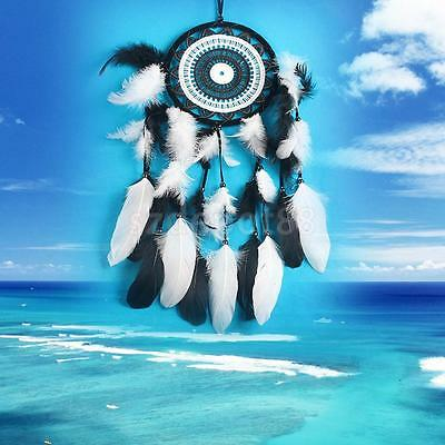 Black White Dreamcatcher Wall Hanging Home Decor Art for Car Craft Ornament
