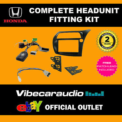 Connects2 CTKHD01 Honda Civic 2006 > Double Din Complete Radio Installation Kit