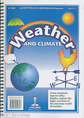 Weather And Climate Years 5 -7 Blm Teacher Resource Science
