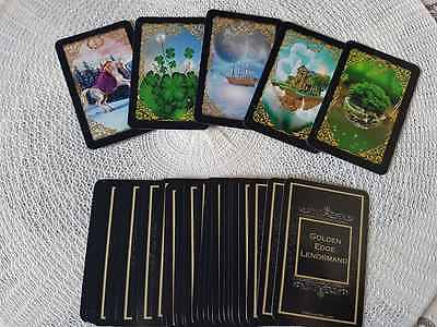 Golden Edge Lenormand Black