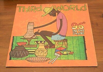 Third World: 96 Degrees In The Shade - Vinyl / Lp - Ilps 9443 - Island Records