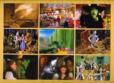 WIZARD OF OZ Film Cell Lot Pack of  35 - Movie DVD Book Poster * FREE SHIPPING *