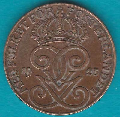 1925 Sweden 2 Two Ore #RB1705-136