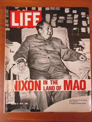 Life Magazine March 3 1972 Nixon in The Land of Mao