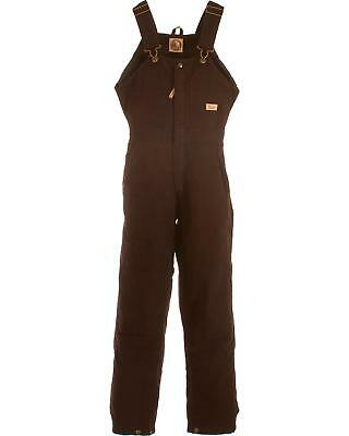 Berne Women's Washed Insulated Bib Overalls - Tall - WB515PLMT