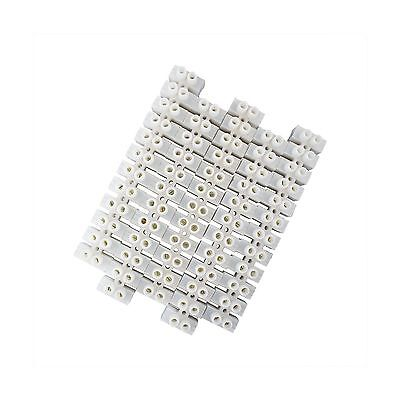 uxcell 5pcs 600V 100A Dual Row 12 Positions Screw Terminal Electric Barrier S...