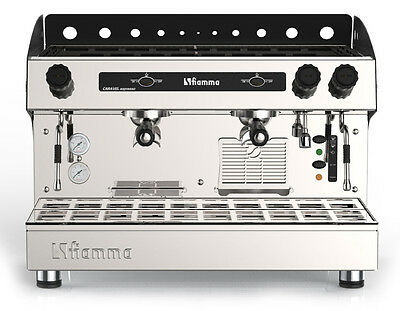 *NEW* Fiamma Caravel Commercial 2 Group Espresso Cappuccino Machine