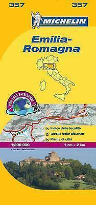 Emilia-Romagna Map - New - Michelin 357 - Italy - Local Mapping - 2016