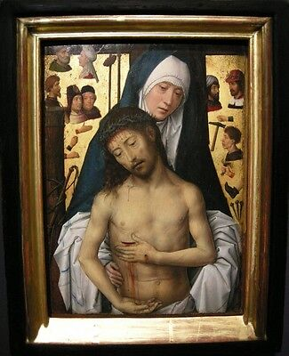"Ecce Homo In The Arms Of The Virgin 1479 Memling 11""x14"" canvas print"