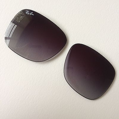 Ray Ban Justin RB 4165 (54x16) New 100% Official & Genuine in Grey Gradient