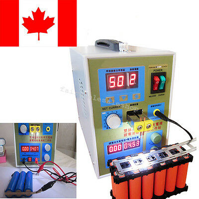 【CA Ship】LED Dual Pulse Spot Welder Welding Battery Charger 800A Micro-Computer