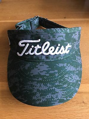 Scotty Cameron Circle T Green Camo Visor RARE And Sold Out!!