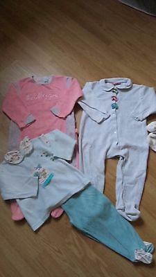 Lot de 3 pyjamas velours fille 18 mois