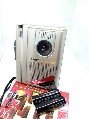 Sanyo TRC-1148 TalkBook Compact Standard Cassette Recorder Dictaphone Dictation