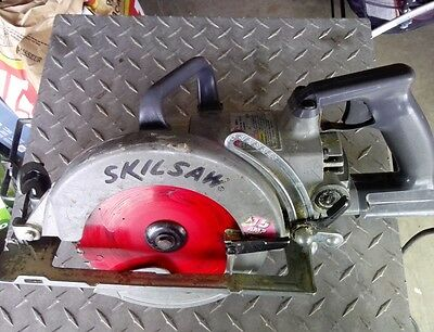 Skil saw shd77 worm drive saw in great condition