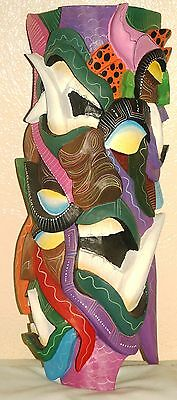 BORUCA MASK AUTHENTIC LEGENDARY INDIGENOUS how many DEVIL's can you SEE!!!