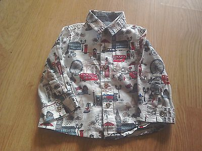 Monsoon Notting Hill Shirt, Long Sleeved, Age 18 -24Months