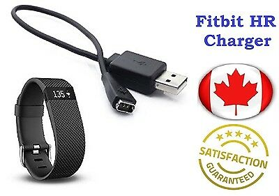 USB Charging Charger Cable Cord for Fitbit HR Charger Smart Watch