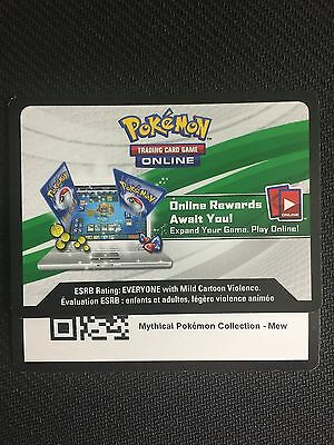 Pokemon Mythical Mew XY110 Box TCGO Online Code (Generations Booster x2)