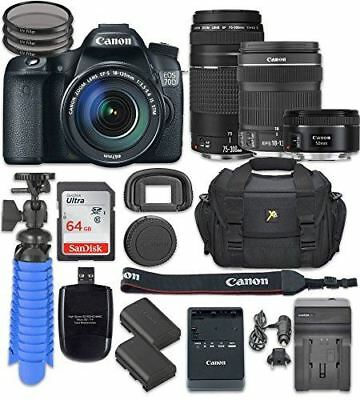 Canon EOS 70D Digital SLR Camera with Canon EF-S 18-135mm f/3.5-5.6 IS STM Lens