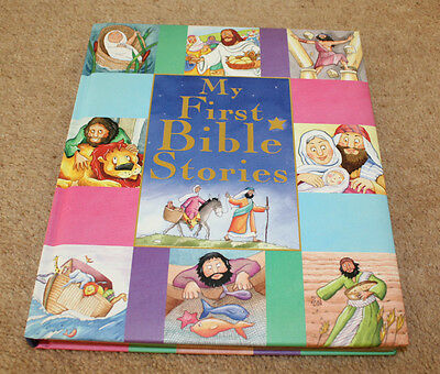 Children's Hardback Book - My First Bible Stories, Lovely Condition