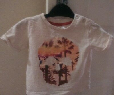 F&F baby boys t shirt age 3-6 months