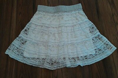 Girls Designer DKNY Age 8 Years Lace Skirt 99p Unwanted