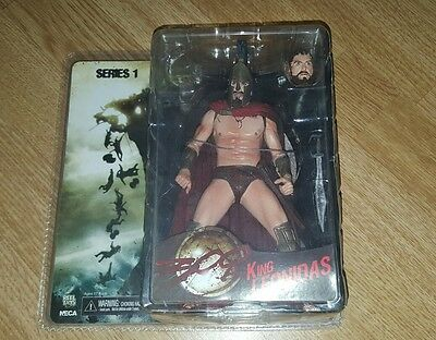 300 King leonidas series 1 action figure  RARE & COLLECTABLE new and unopened