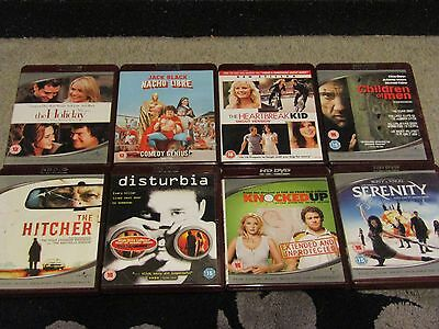 8 HD DVD'S FILM BUNDLE, see List All Good condition.