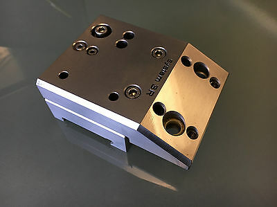 System 3R 3R-272HP Wire EDM Dovetail Leveling Head - HP Type - EDM Tooling