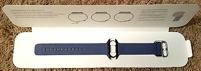 GENUINE Apple Watch Tahoe Midnight BLUE WOVEN NYLON Band 42 mm  BRAND NEW   oem