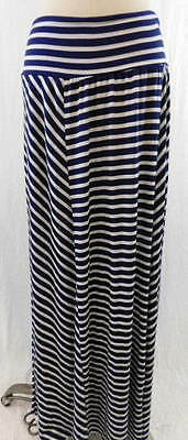 C10// Alyx Woman Blue And White Long Skirt 3X
